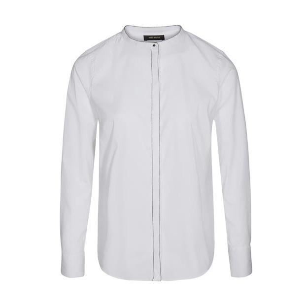 Weiße Bluse von der Marke Mos Mosh