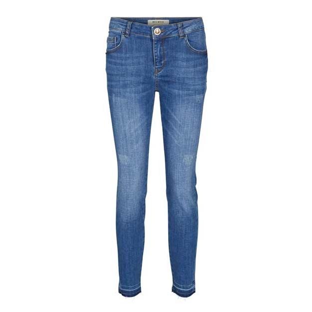 "blaue Jeans Hose ""Sumner Lt. Deluxe"" von Mos Mosh"
