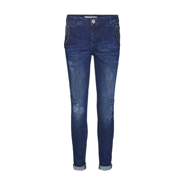 Blaue Jeans von der Marke Mos Mosh im Used-Look