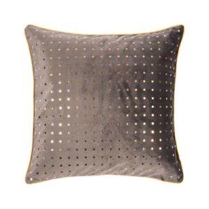 Kissen von der Marke PAD in taupemit Muster aus Pailletten