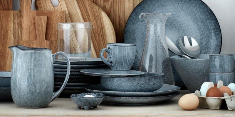 Handgearbeitetes Geschirr von Broste Copenhagen