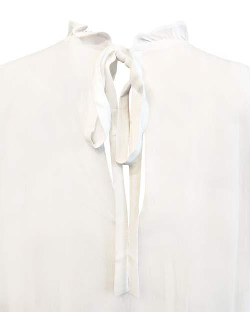 Klassische weiße Bluse von JC Sophie