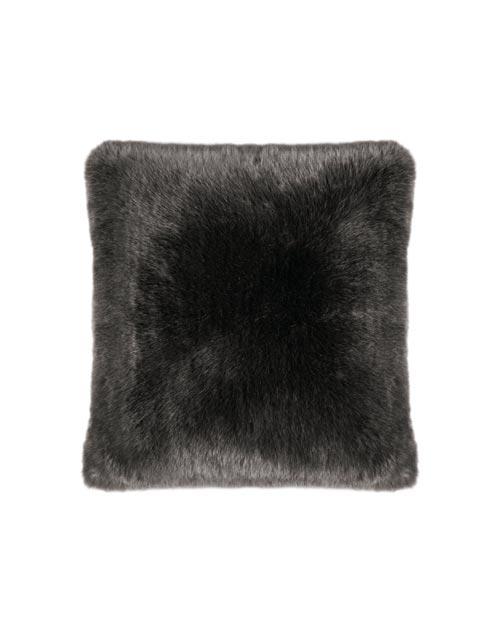Kissen aus Fell-Imitat von der Marke PAD in grau