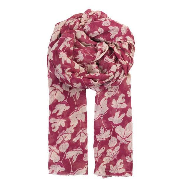 jacobins-bordeaux-beck-soendergaard-schal-fransen-tuch-scarf