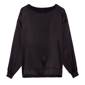 10days-longsleeve-top-bluse-black-schwarz-silk-seide-vorne