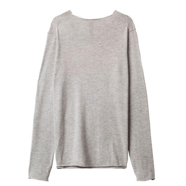 10days-amsterdam-sweater-pullover-Love-print-yellow-grey-hinten-back