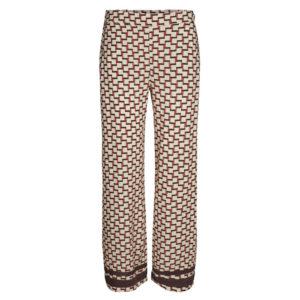 MosMosh-Rita-Graphic-Pants-Hose-Front-vorne-Marsala-Print