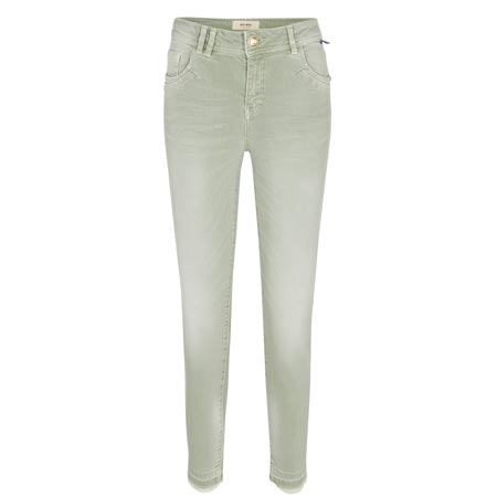 Mos-mosh-Summer-Soft-Pants-sage-green-casual-gruen-hose-washed-effects-vorderseite-front