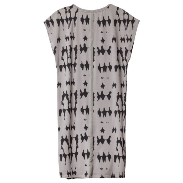 10-DAYS-Amsterdam-Sleeveless-Dress-tie-dye-batik-Muster-back-rueckseite