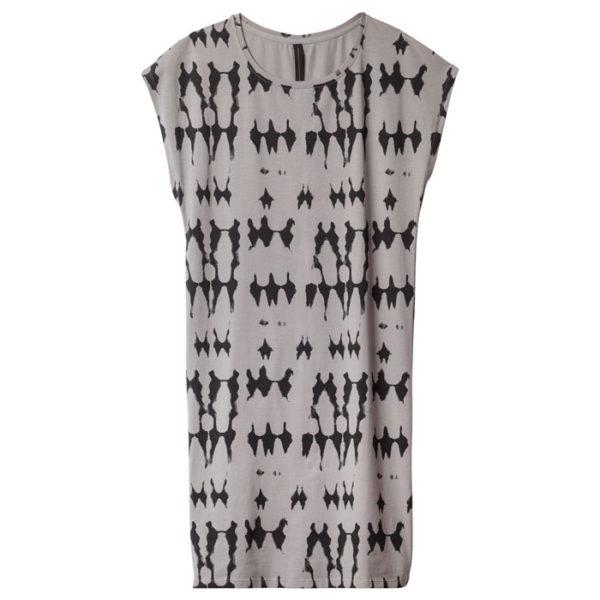 10-DAYS-Amsterdam-Sleeveless-Dress-tie-dye-batik-Muster-Front-vorderseite