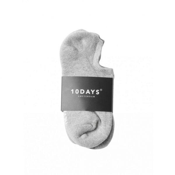10days-the-socks-light-grey-melee-socken-sneaker.