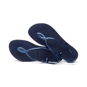 Havaianas Flipflops Sandale Badeschuh Zehentrenner Luna Navy Blue Badelatschen Badeschlappen