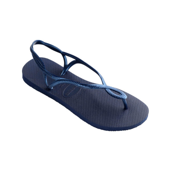 Havaianas Flipflops Sandale Badeschuh Zehentrenner Luna Navy Blue Badelatschen Badeschlappen Einzel