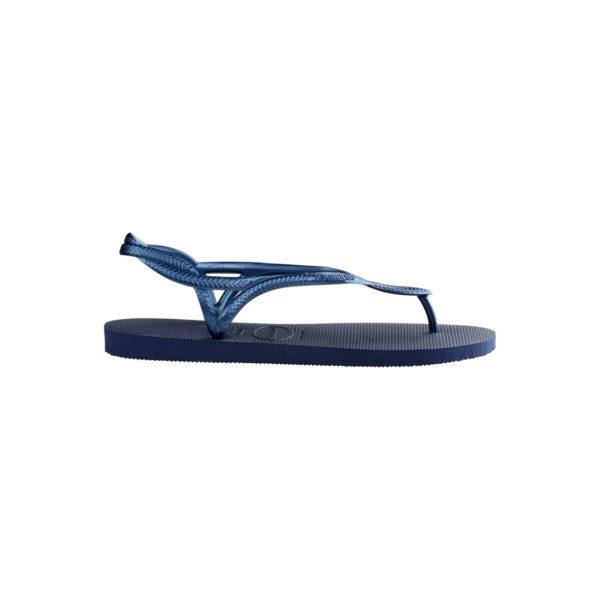 Havaianas Flipflops Sandale Badeschuh Zehentrenner Luna Navy Blue Badelatschen Badeschlappen Seite