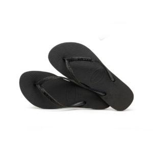 Havaianas Flipflops Sandale Badeschuh Zehentrenner Slim Glitter Black Badelatschen Badeschlappen