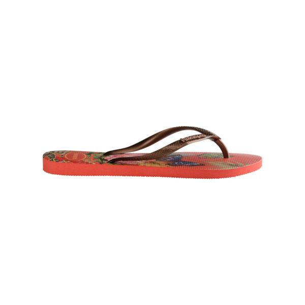 Havaianas Flipflops Sandale Badeschuh Zehentrenner Slim Tropical Strawberry Badelatschen Badeschlappen Seite