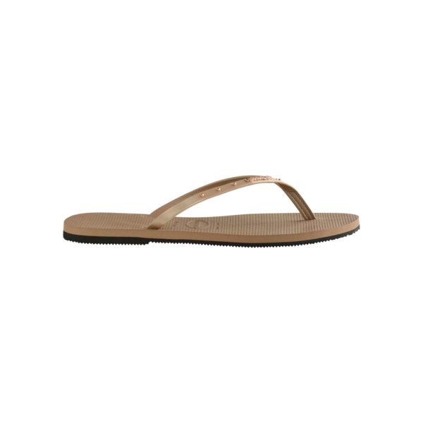 Havaianas Flipflops Sandale Badeschuh Zehentrenner You Maxi Rose Gold Badelatschen Badeschlappen Seite