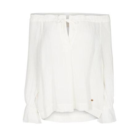 MosMosh-Diana-Stitch-Blouse-Off-shoulder-white-weiss-front-vorderseite