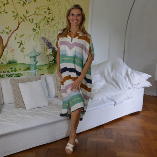 Robert-Friedman-Dress-Gisele-L-Striped-image