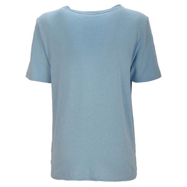 essentiel-antwerp-seasand-linen-tshirt-blau