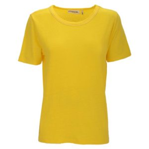 essentiel-antwerp-seasand-linen-tshirt-gelb-cyber-yellow