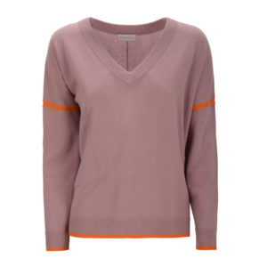 pullover-sweater-delicatelove-sola-apricot-valentine-kaschmir-wolle-cashmere-front