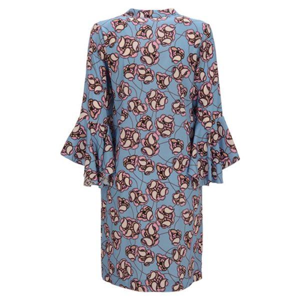 zimt-und-zucker-dress-flower-print-muster-blue-summer-casual-chic-rueckseite-back