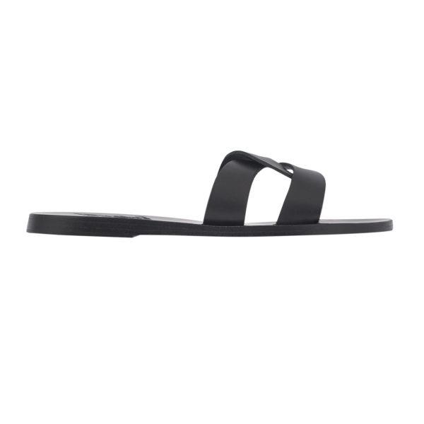 Ancient Greek Sandals Sandalen Desmos Off Black Schwarz Leder