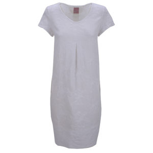 Philo Summerdress Pozzana Embroidery Stickerei White Casual Front Vorderseite