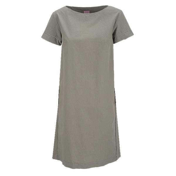 Philo Summerdress Pi Otare Casual Chic Green Sidepockets Front Vorderseite