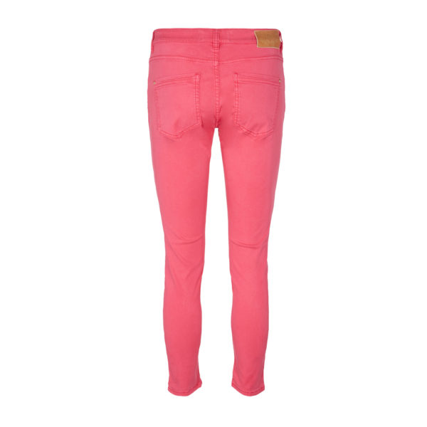 Mosmosh Sumner Air Step Pant Raspberry Rot Himbeer Back