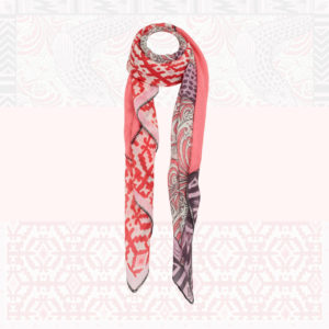 Friendly-Hunting-scarf-patch-WOMEN-5049-30-red-silk-high-quality