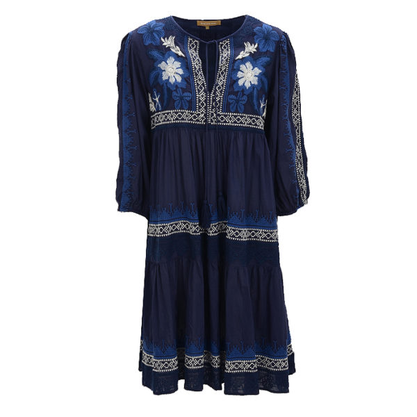 Rose-and-rose-maxidress-summer-casual-voderseite-front-blue