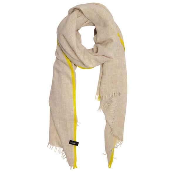 10days-amsterdam-scarf-fluor-stripes-soft-white-melee