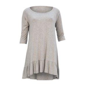 Biscuits Nachthemd Mit Rüschen Grau Grey Dress Night Sleep Nachtkleid Rüschen