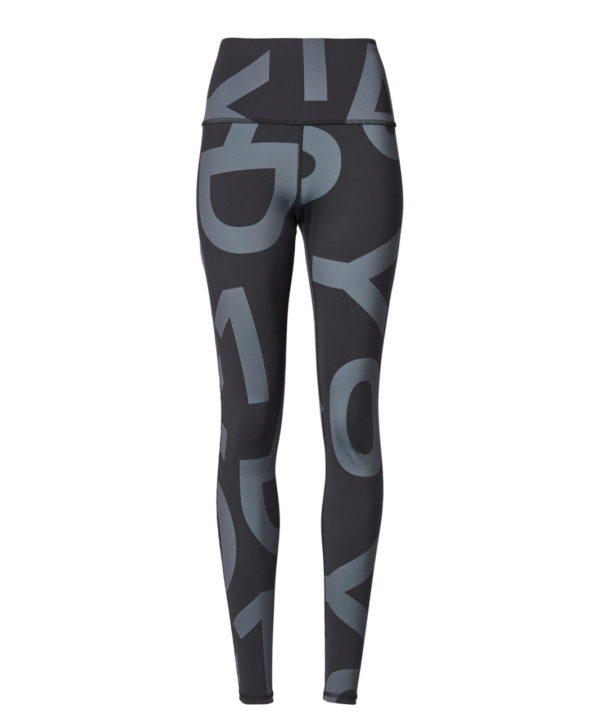 10days Yoga Leggings Big Logo Dark Elephant