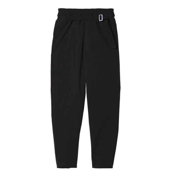 10days Amsterdam Pants Black Casual Vorderseite Front