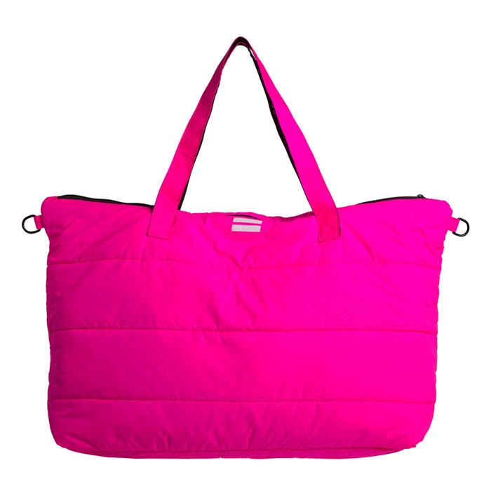 10days Amsterdam Shopper Fluor Pink Quilting Vorderseite Front